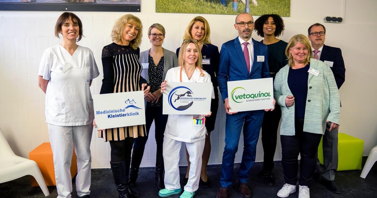 Vetoquinol und die Medizinischen Kleintierklinik der LMU eröffnen das Zentrum für Tiermobilität